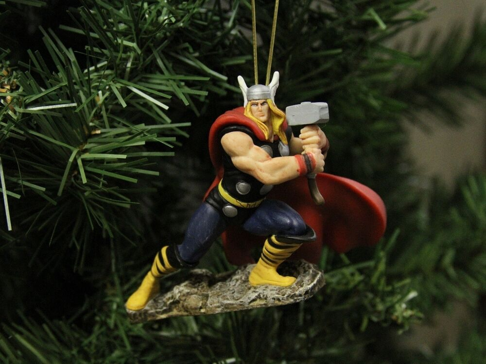 Best The Avengers Thor Superior Christmas Ornament Marvel Ebay This Month