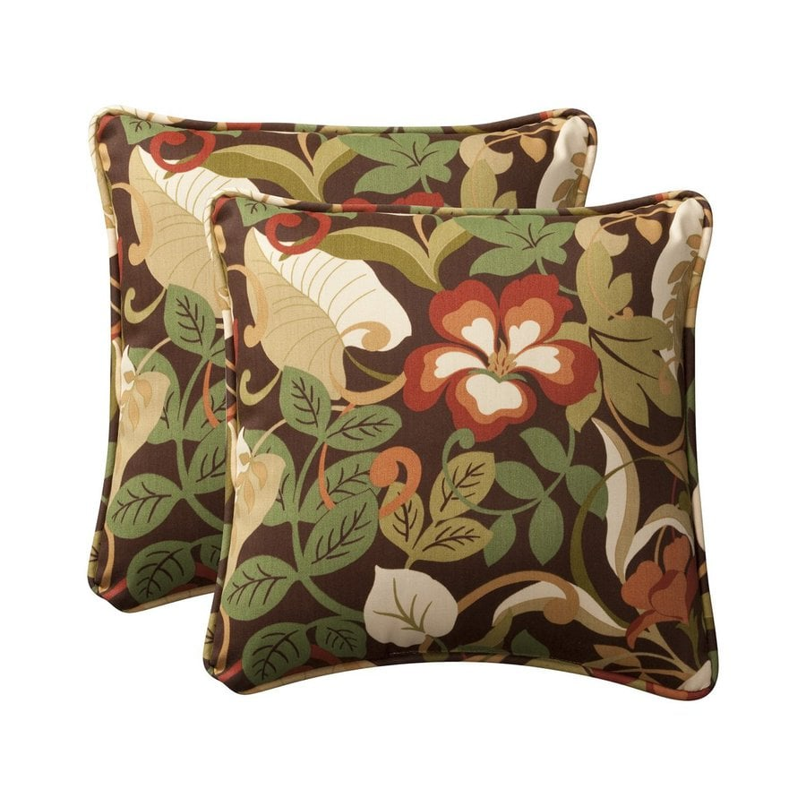 Best Shop Pillow Perfect Tropical 2 Pack Multicolor Floral This Month