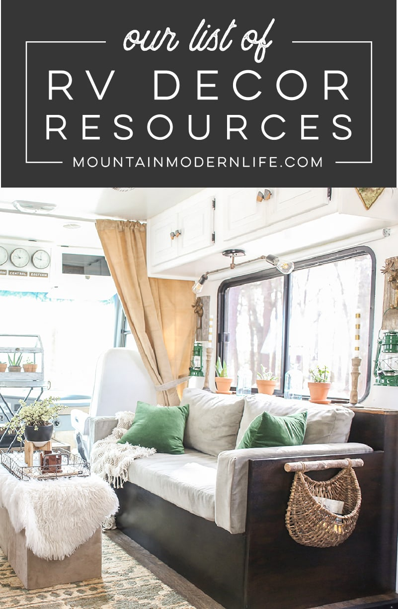 Best Our Rv Decor Resources Mountainmodernlife Com This Month