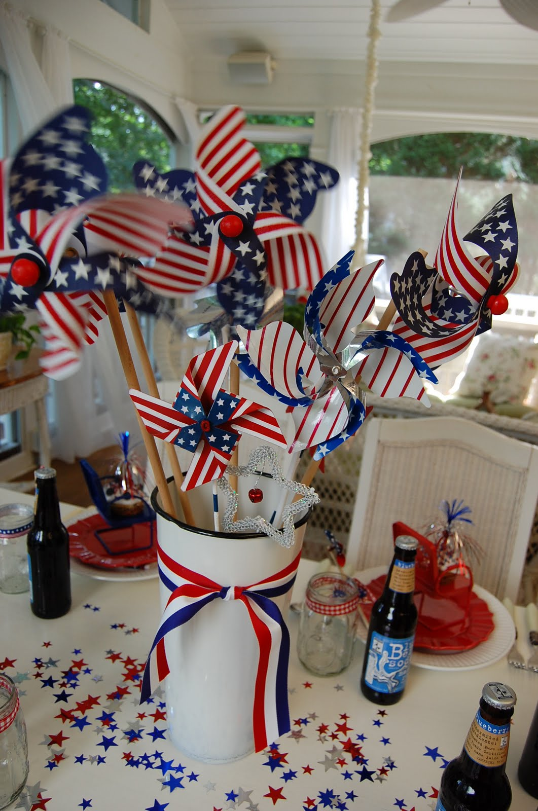 Best A Patriotic Celebration Table Setting This Month