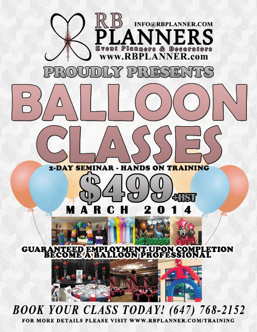 Best Balloon Classes Rb Planners This Month