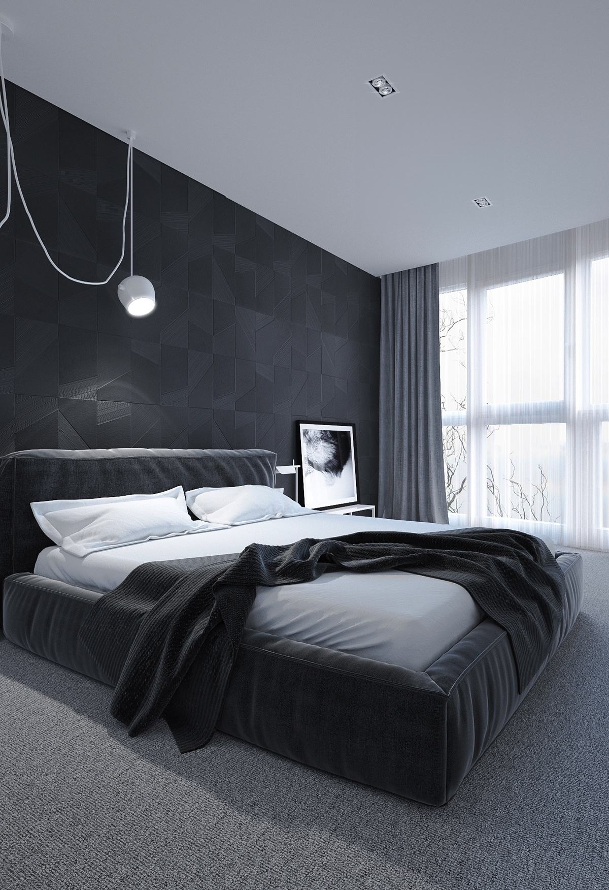 Best 6 Dark Bedrooms Designs To Inspire Sweet Dreams This Month