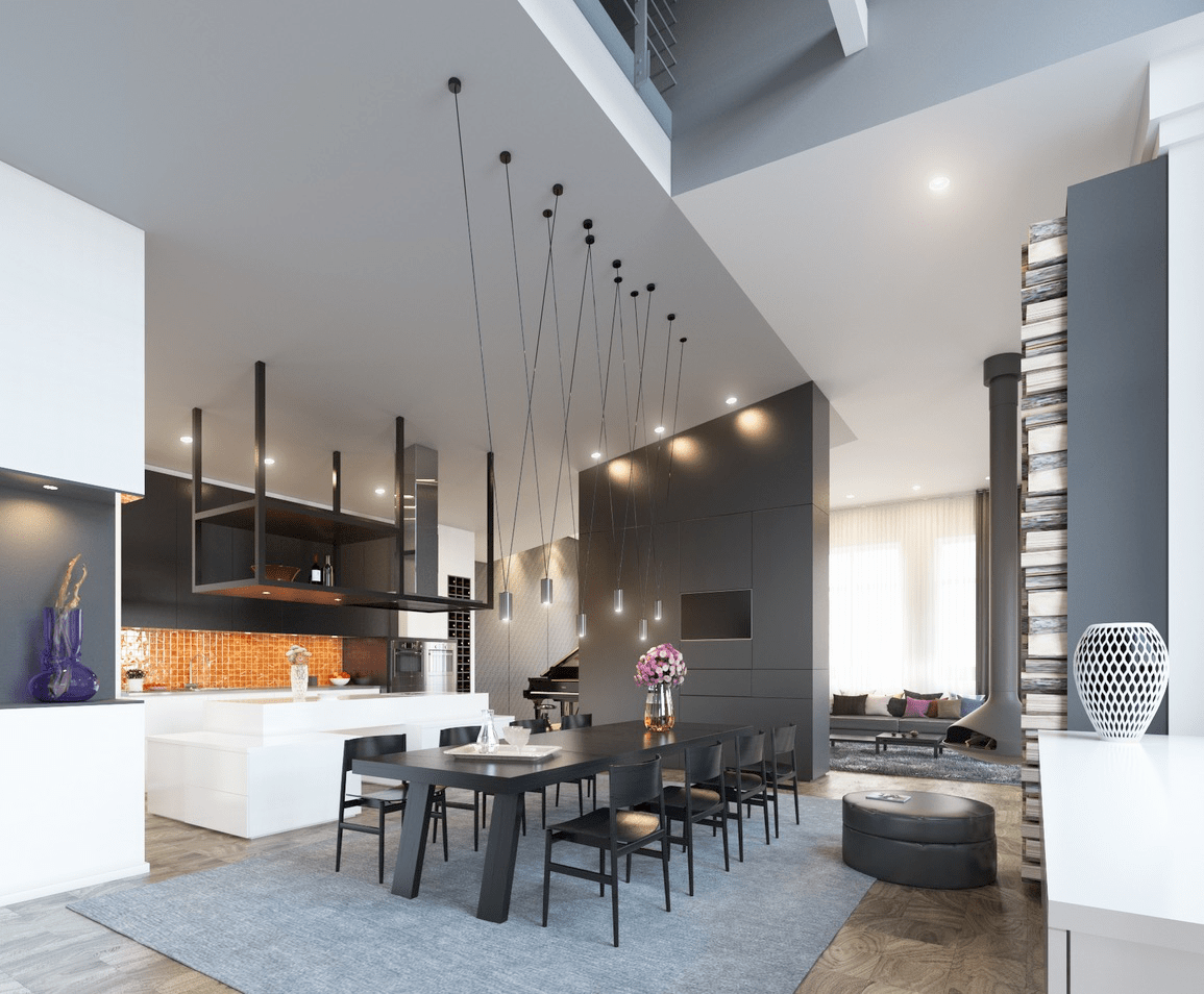 Best 50 Strikingly Modern Dining Rooms That Inspire You To This Month