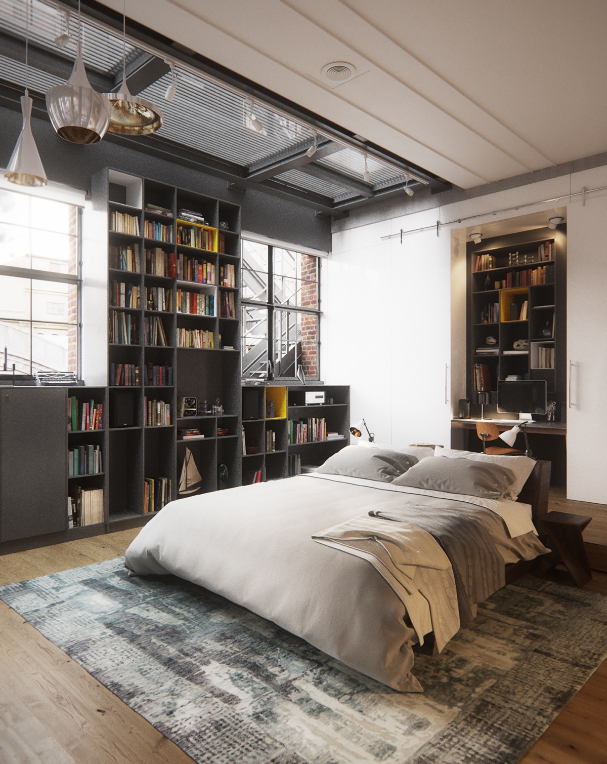 Best Industrial Style Bedroom Design The Essential Guide This Month