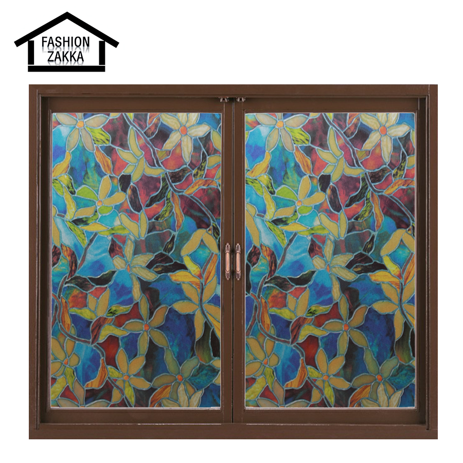 Best Hot Colorful Flowers European Church Style Stained Glass This Month