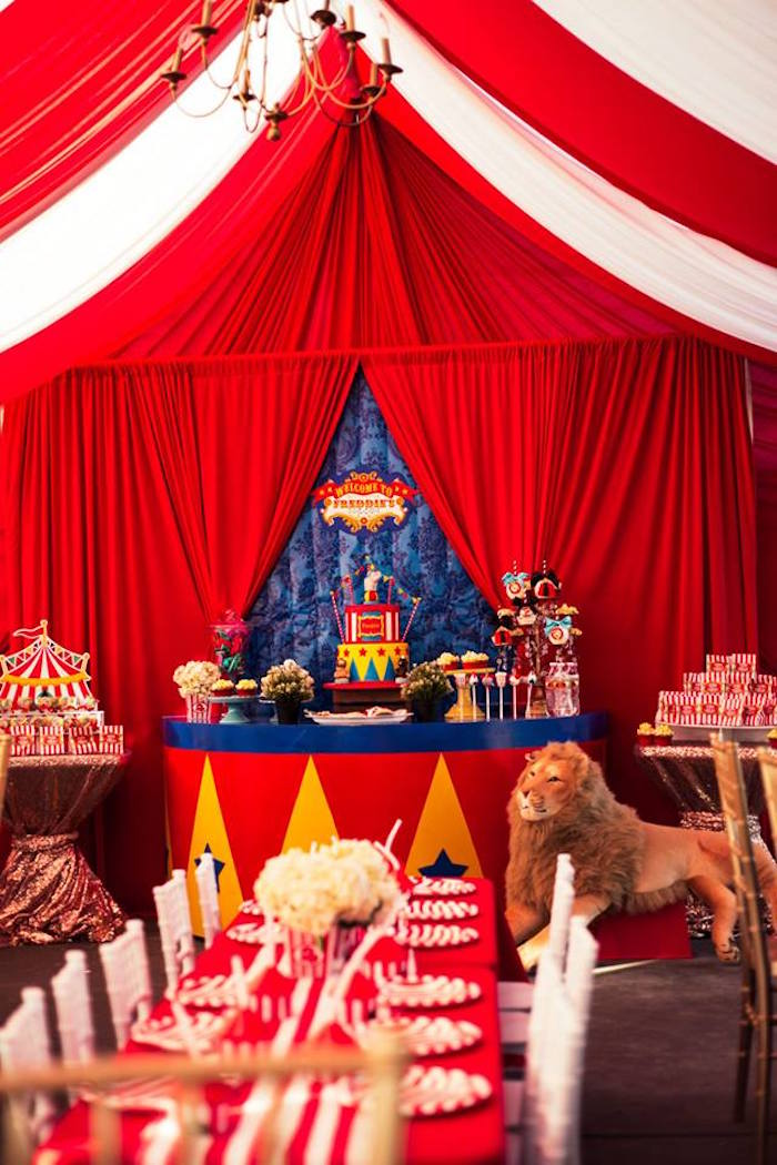 Best Kara S Party Ideas The Big Top Circus Birthday Party This Month