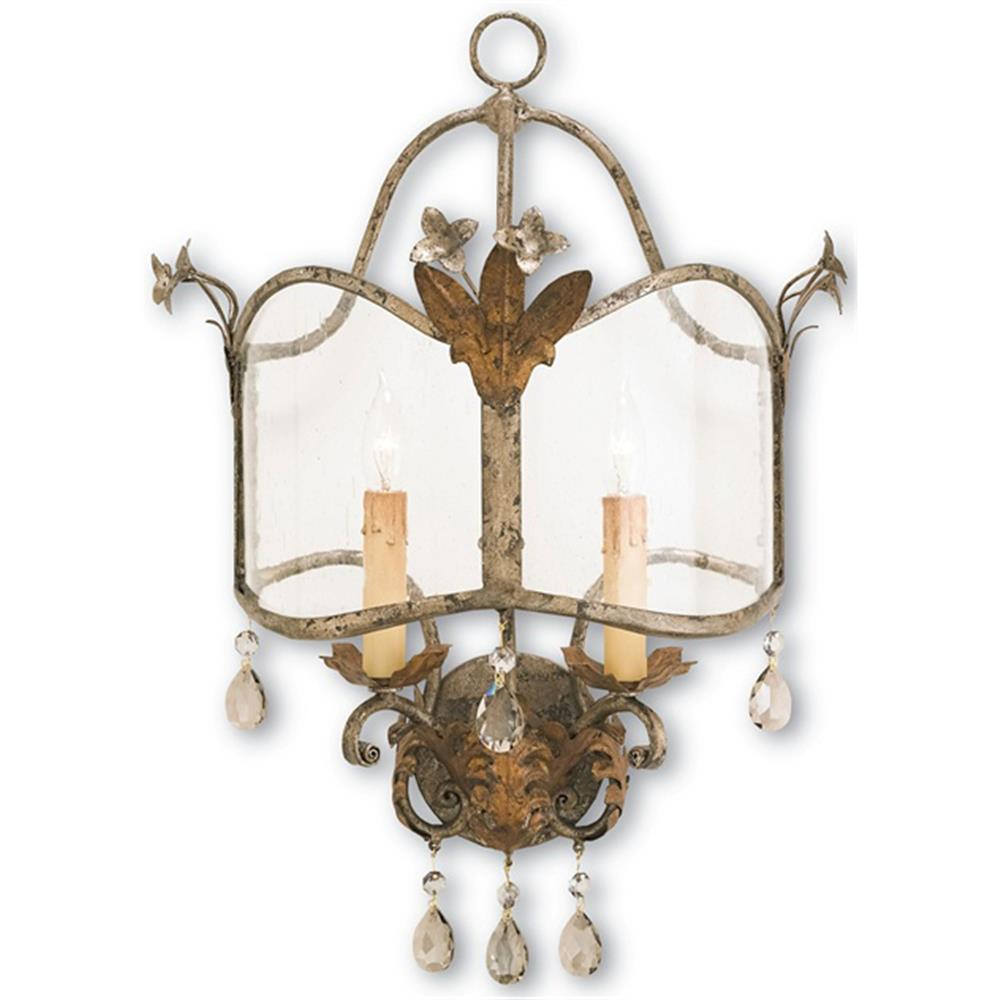 Best Spanish Revival Antique Gold Silver Decorative Wall Sconce This Month