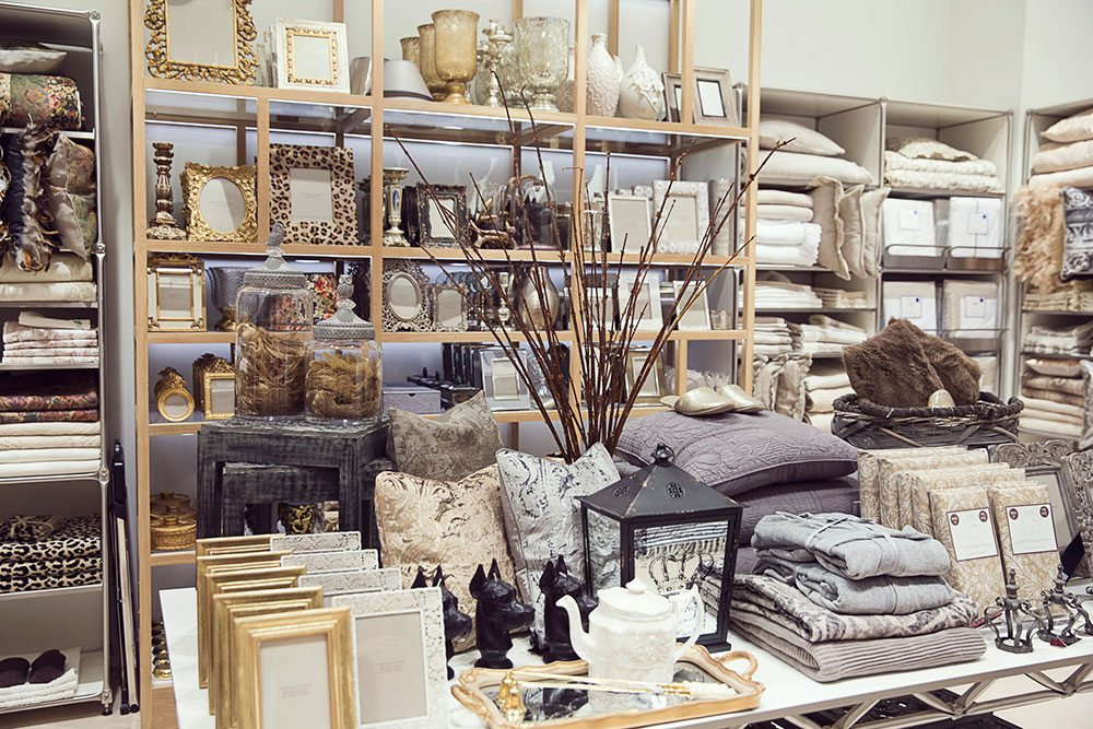 Best Store Guide Zara Home Another Area Of The Store Emphasizes This Month