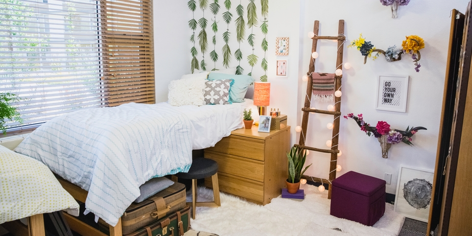 Best Decking Out A Dorm Room On A Small Budget Start With The This Month