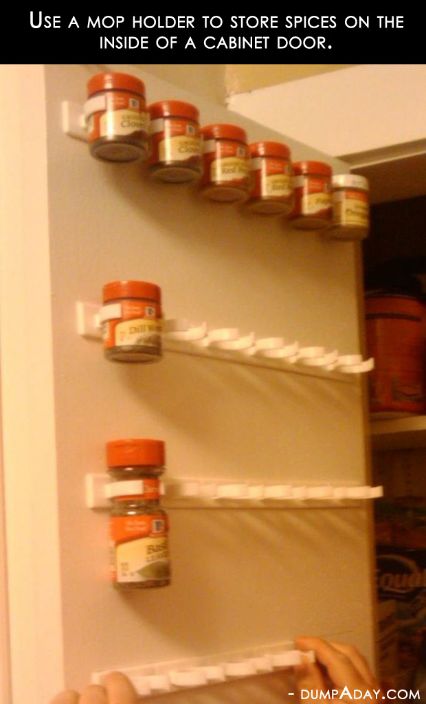 Best Amazing Easy Diy Home Decor Ideas Mop Holder Spice Rack This Month