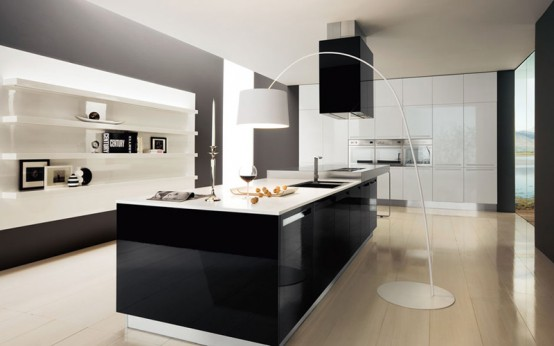 Best 30 Black And White Kitchen Design Ideas Digsdigs This Month