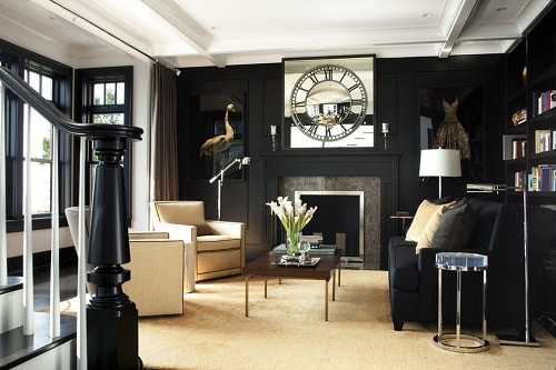 Best The Most Brilliant Black And Gold Living Room Decor Ideas This Month