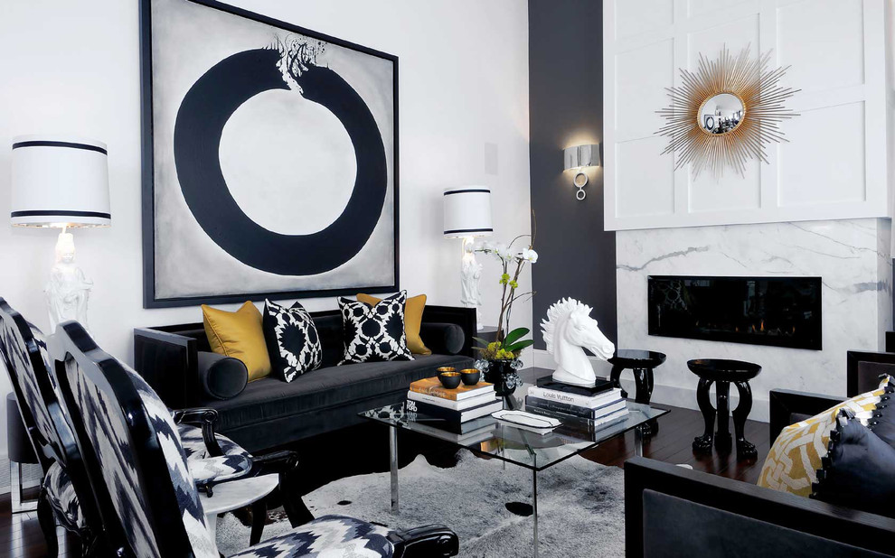 Best Black And White Living Room Decoration This Month