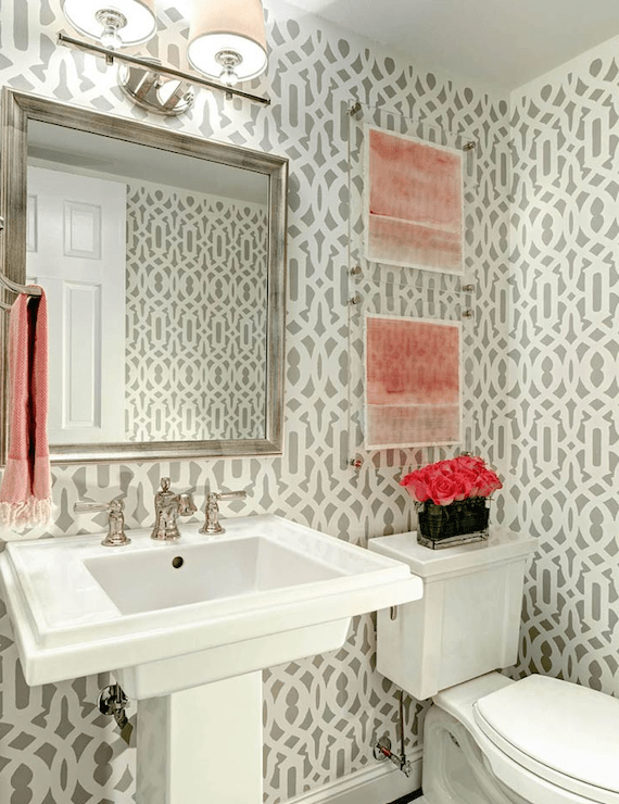 Best 20 Practical Pretty Powder Room Decorating Ideas This Month