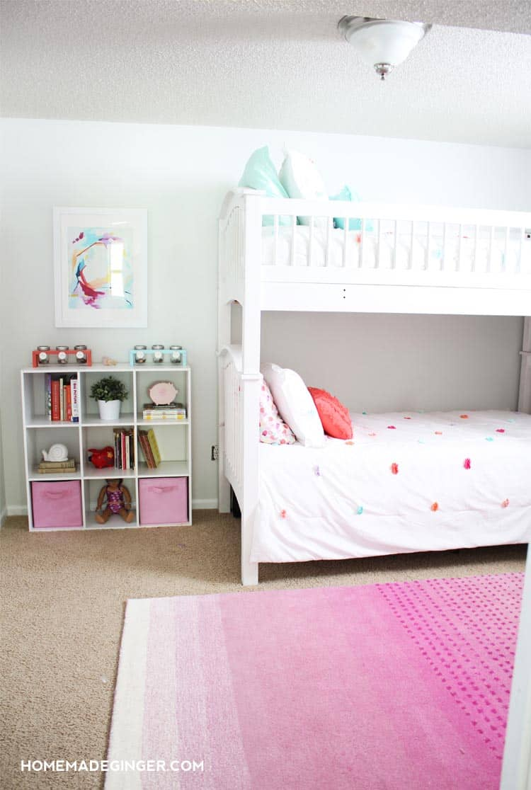 Best Girls Bedroom Reveal Diy Room Decor Homemade G*Ng*R This Month