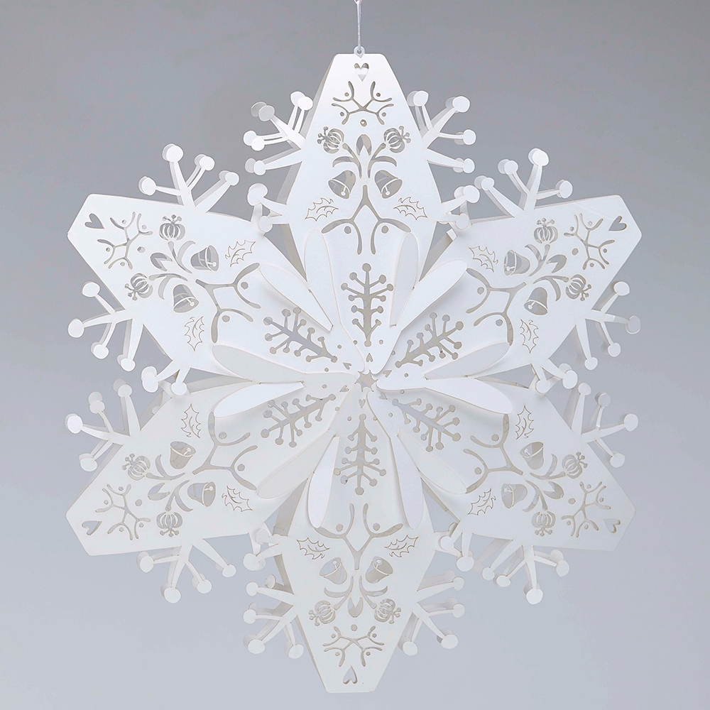 Best Large White Hanging Snowflakes This Month
