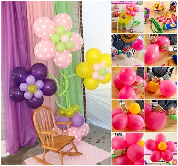 Best Wonderful Diy Pretty Balloon Flowers For Party This Month