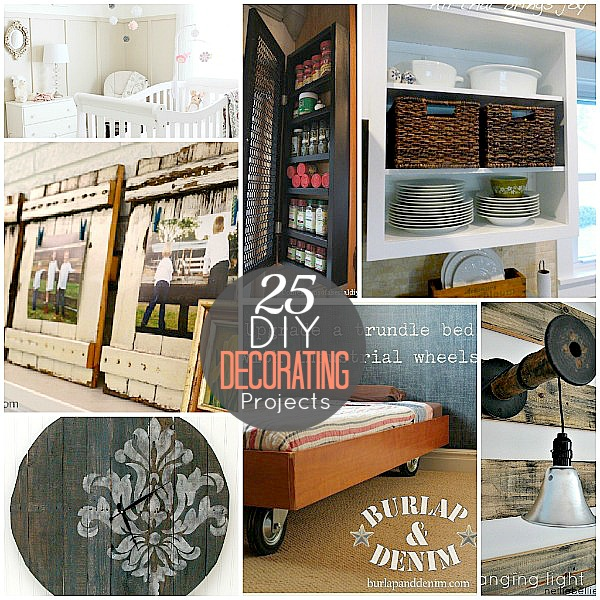 Best 25 Diy Decorating Projects That You Are Inspired To Do This Month