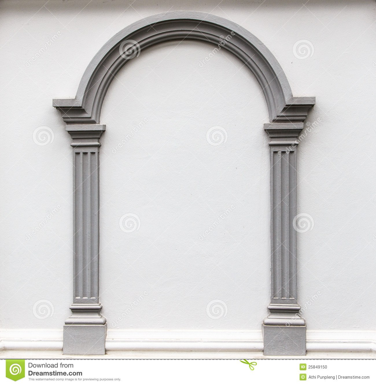 Best Arch Molding On The Wall Stock Photo Image 25849150 This Month