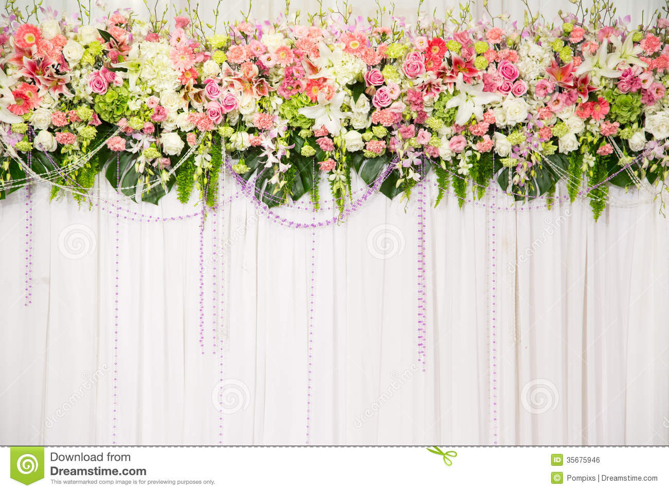 Best Beautiful Flower Wedding Decoration Stock Photo Image Of This Month