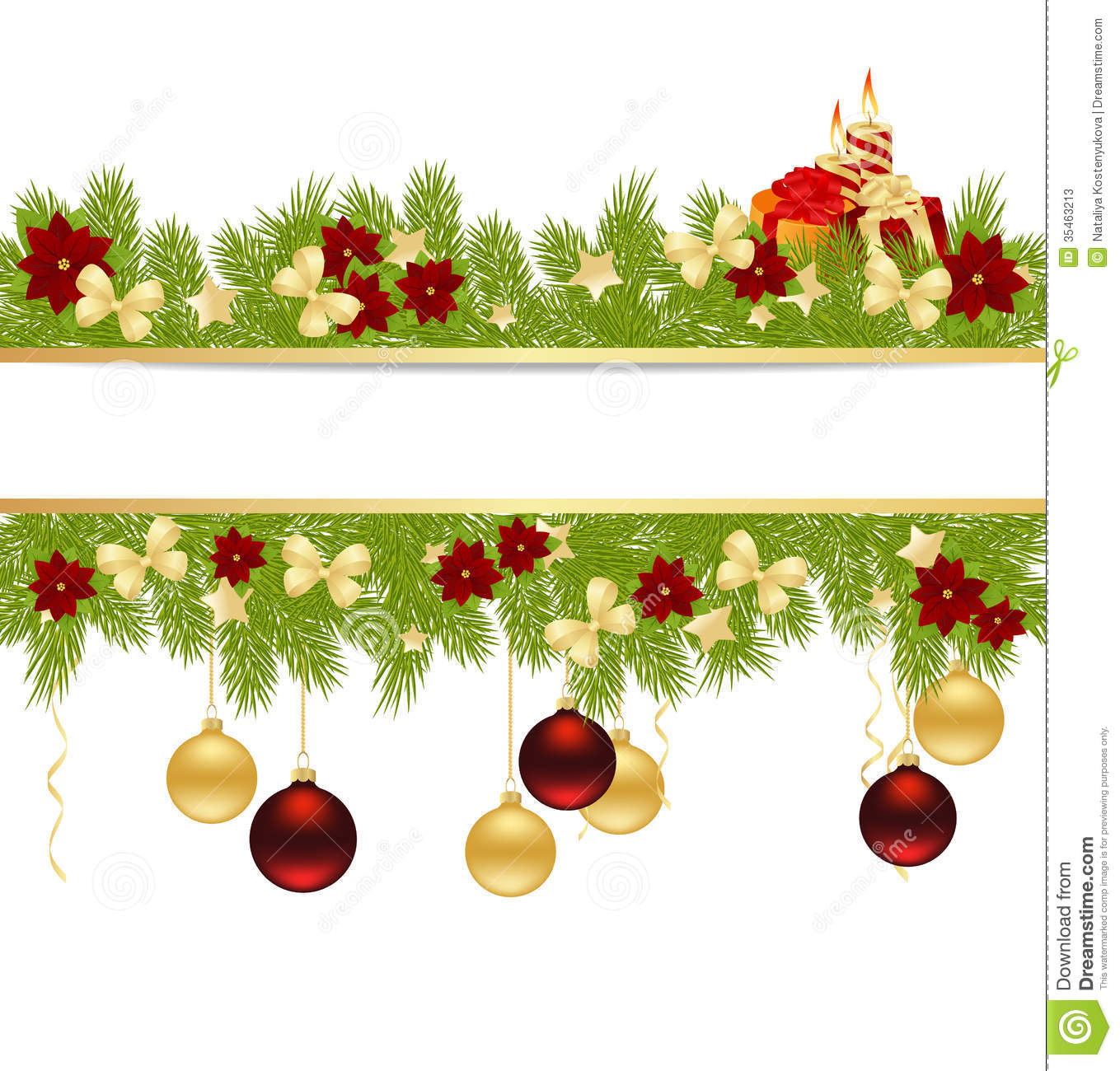 Best Christmas Card Stock Vector Illustration Of Pine This Month