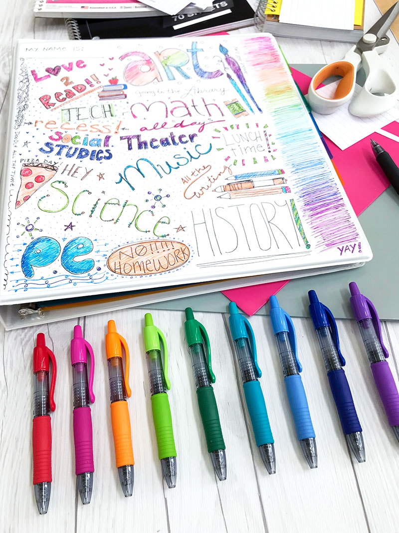 Best How To Make Cute Binders For School 100 Directions This Month