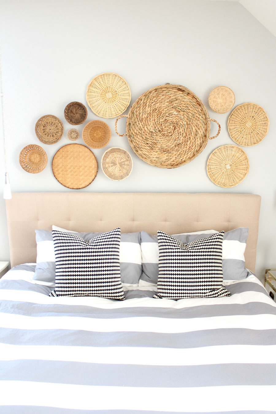 Best Above Bed Decor Eight Ideas For Decorating That Awkward This Month
