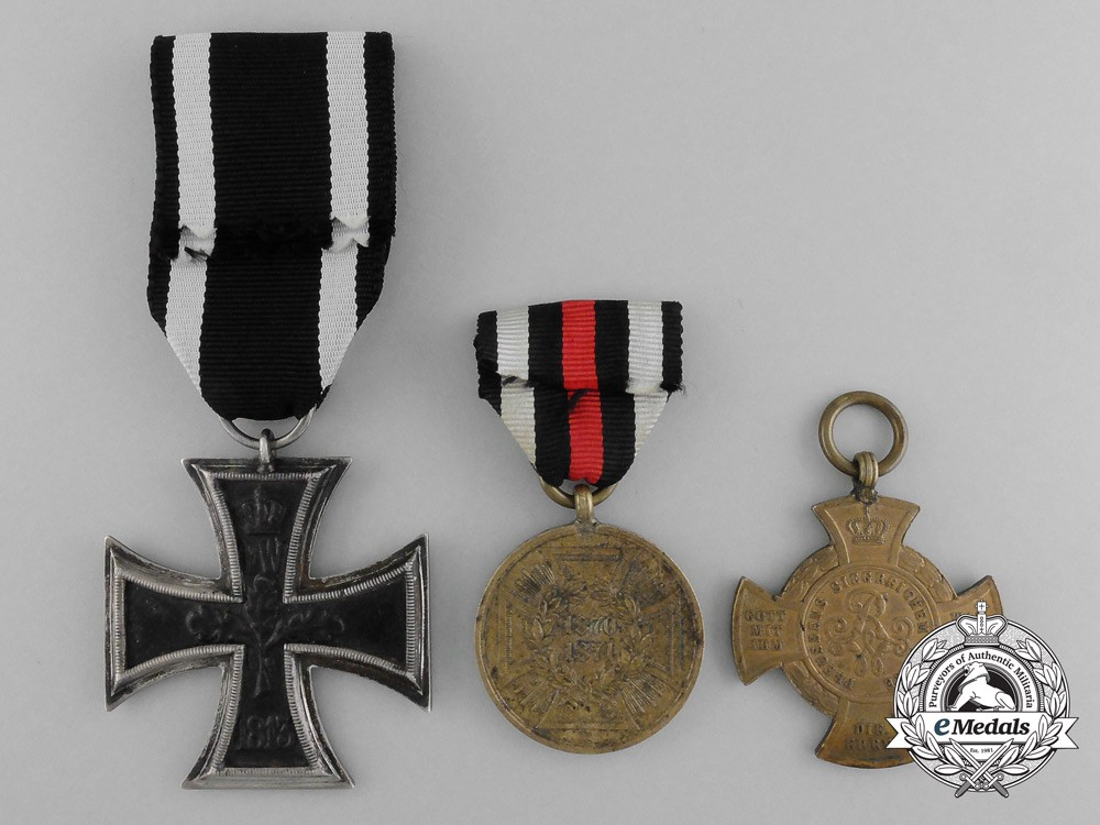 Best A Lot Of Three Imperial German Awards Medals And Decorations This Month