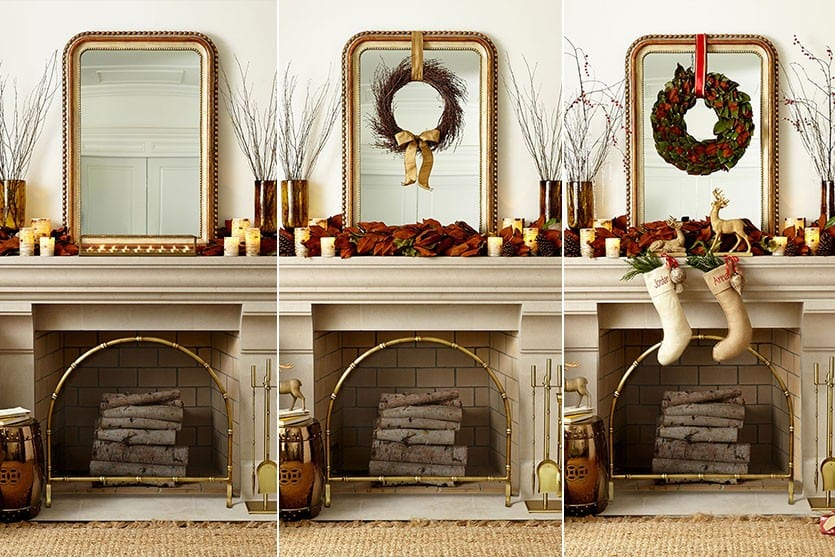Best Decorating A Mantel For Fall And Christmas How To Decorate This Month