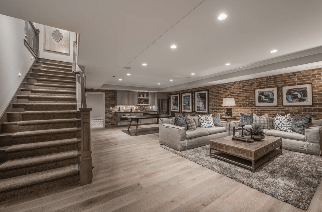 Best 62 Finished Basement Ideas Photos This Month