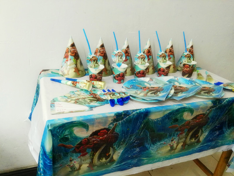 Best Wholesale Moana Theme Party Decorations Baby Happy This Month