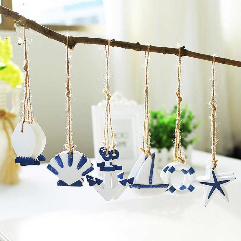 Best Creative Mediterranean Style Starfish Hung Fish Nautical This Month