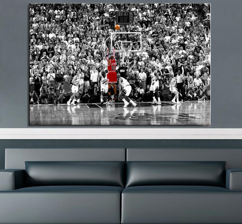 Best Drop Shipping Basketball Star Canvas Painting For Living This Month