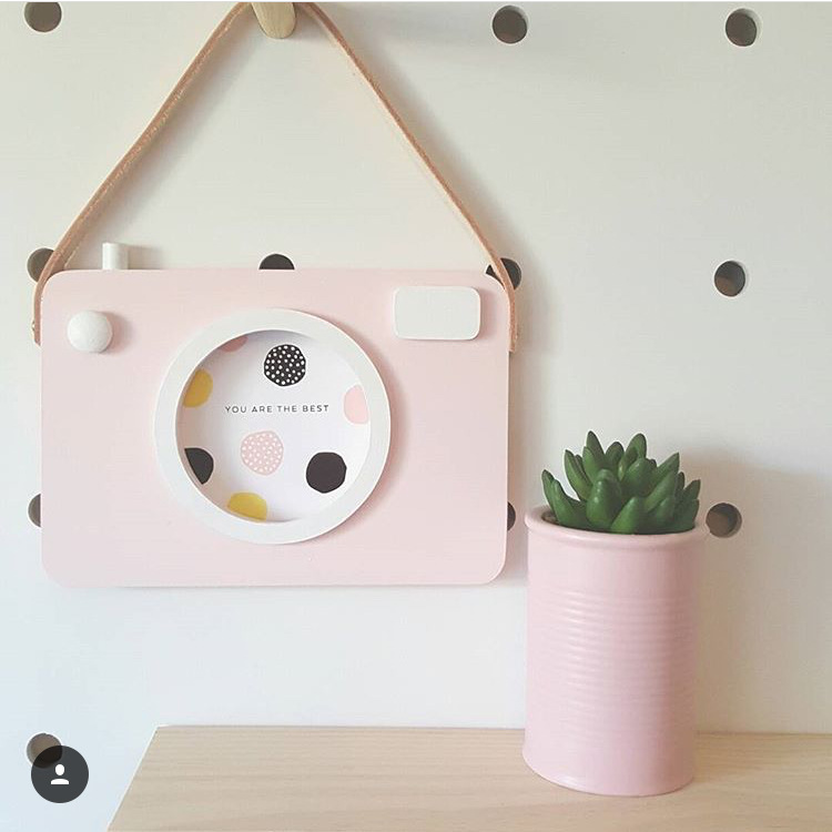 Best Baby Kids Cute Wood Camera Toys Children Room Wall This Month