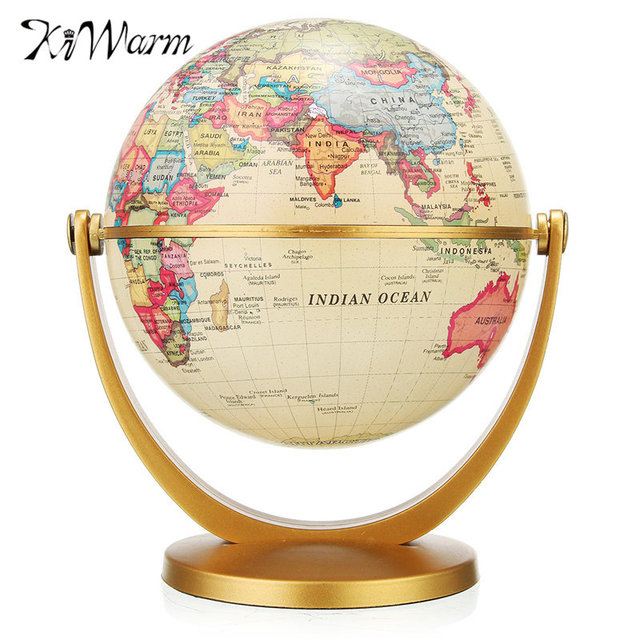 Best Kiwarm Vintage World Globe Earth Map With Stand Antique This Month