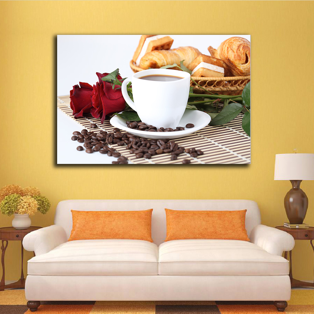 Best Embelish Drop Shipping Large Size Coffee And Flowers This Month