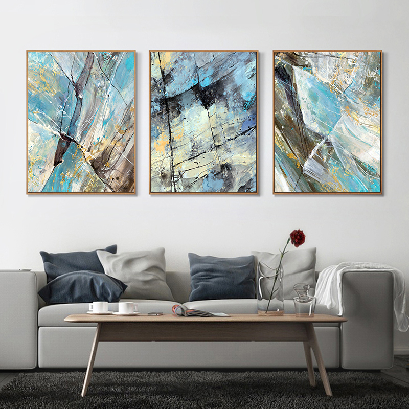 Best 3 Piece Canvas Painting Modern Abstract Art Home Decor Oil This Month