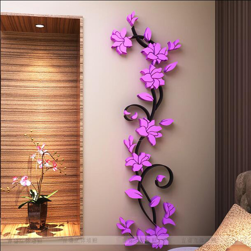 Best Aliexpress Com Buy Free Shipping Flower Hot Sale Wall This Month