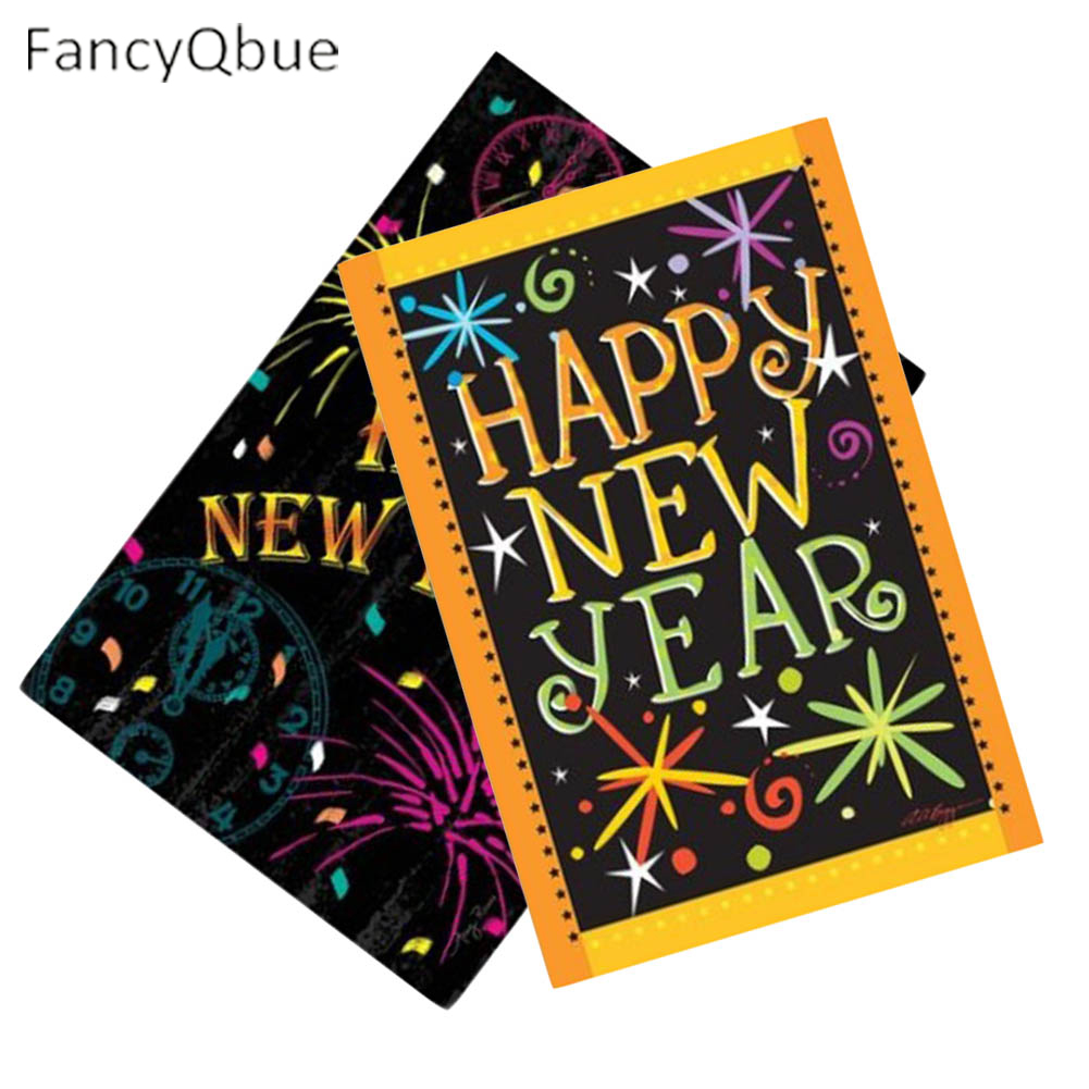 Best Happy New Year Decorative Outdoor And Indoor Flags This Month