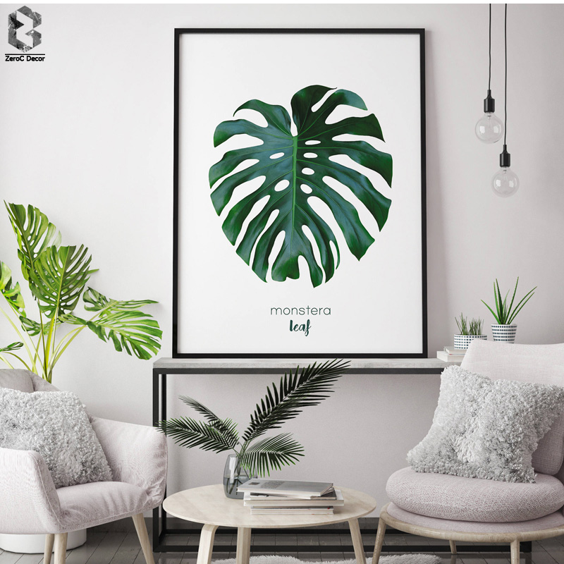 Best Nordic Fresh Monstera Posters And Prints Wall Art Canvas This Month
