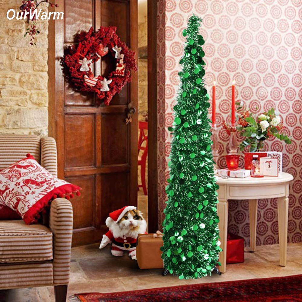 Best Aliexpress Com Buy Ourwarm New Year Artificial Tinsel This Month