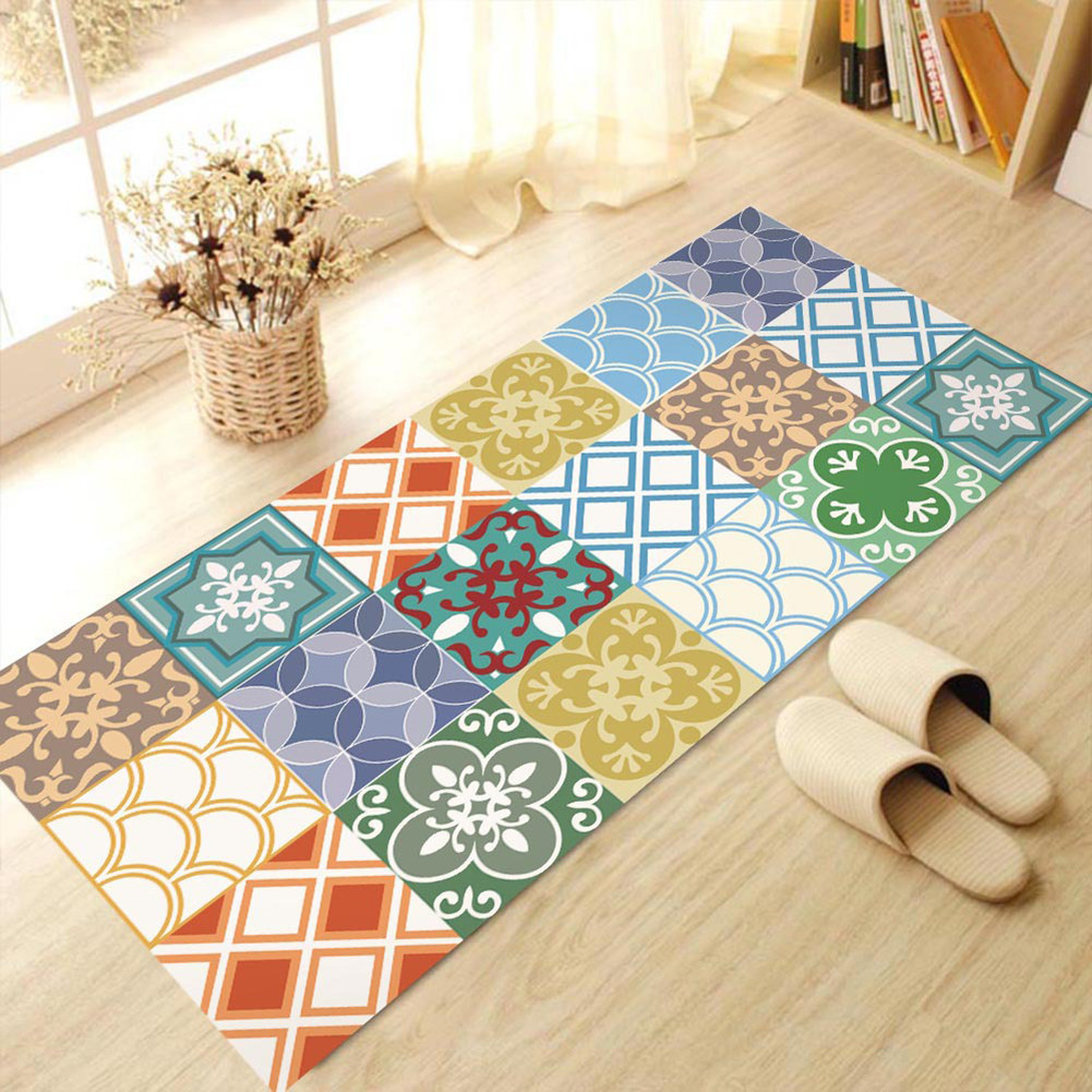 Best 60X120Cm Removable Floor Stickers Mediterranean Style Self This Month