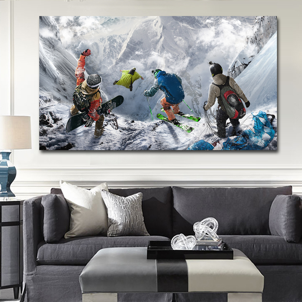 Best Winter Mountain Extreme Skiing Snowboarding Sports Steep This Month