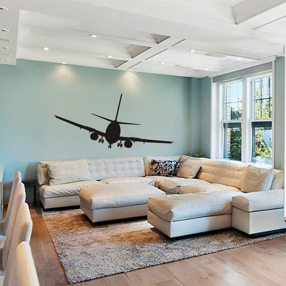 Best Airplane Wall Decals Aviation Wall Decor Jumbo Jetliner This Month