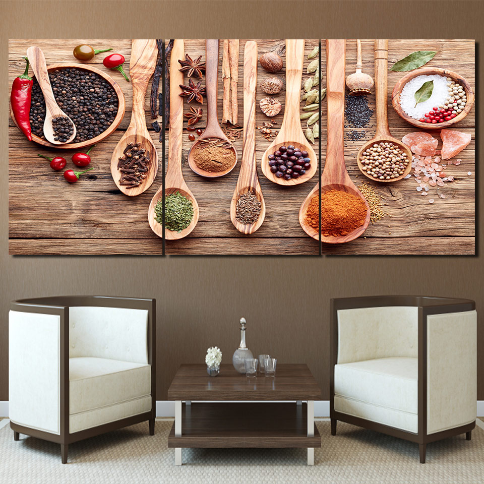 Best Modern Printed Poster Frame For Living Room Wall Art Food This Month