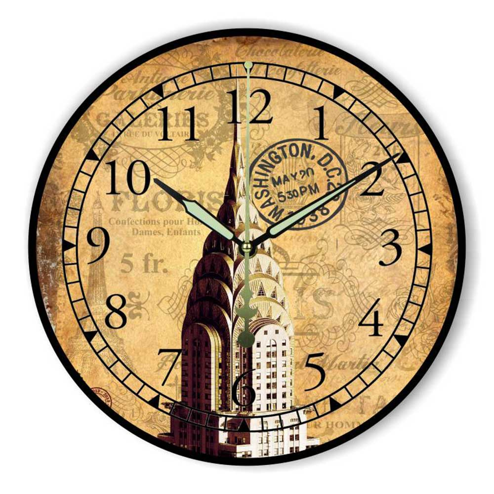 Best Vintage Home Decor Wall Clock More Silent Warranty 3 Years This Month