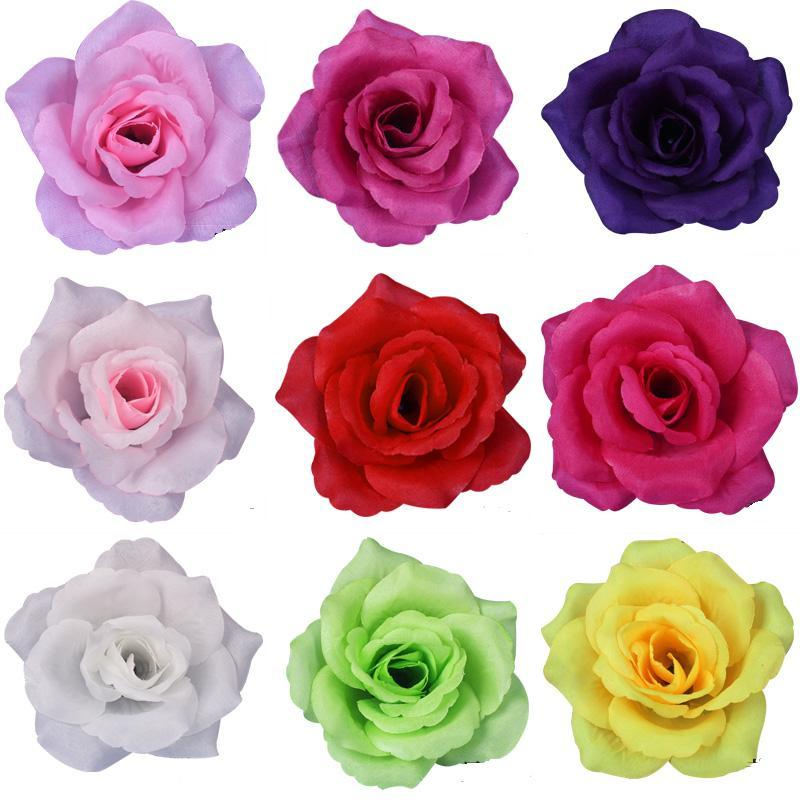 Best Wholesale 100Pcs 10Cm Silk Rose Flower Heads For Wedding This Month