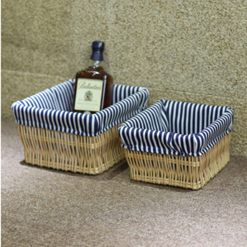 Best Decorative Wicker Baskets Small Large Wicker Storage This Month