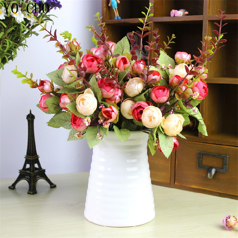 Best Aliexpress Com Buy 21 Heads Spring Fake Silk Flowers This Month