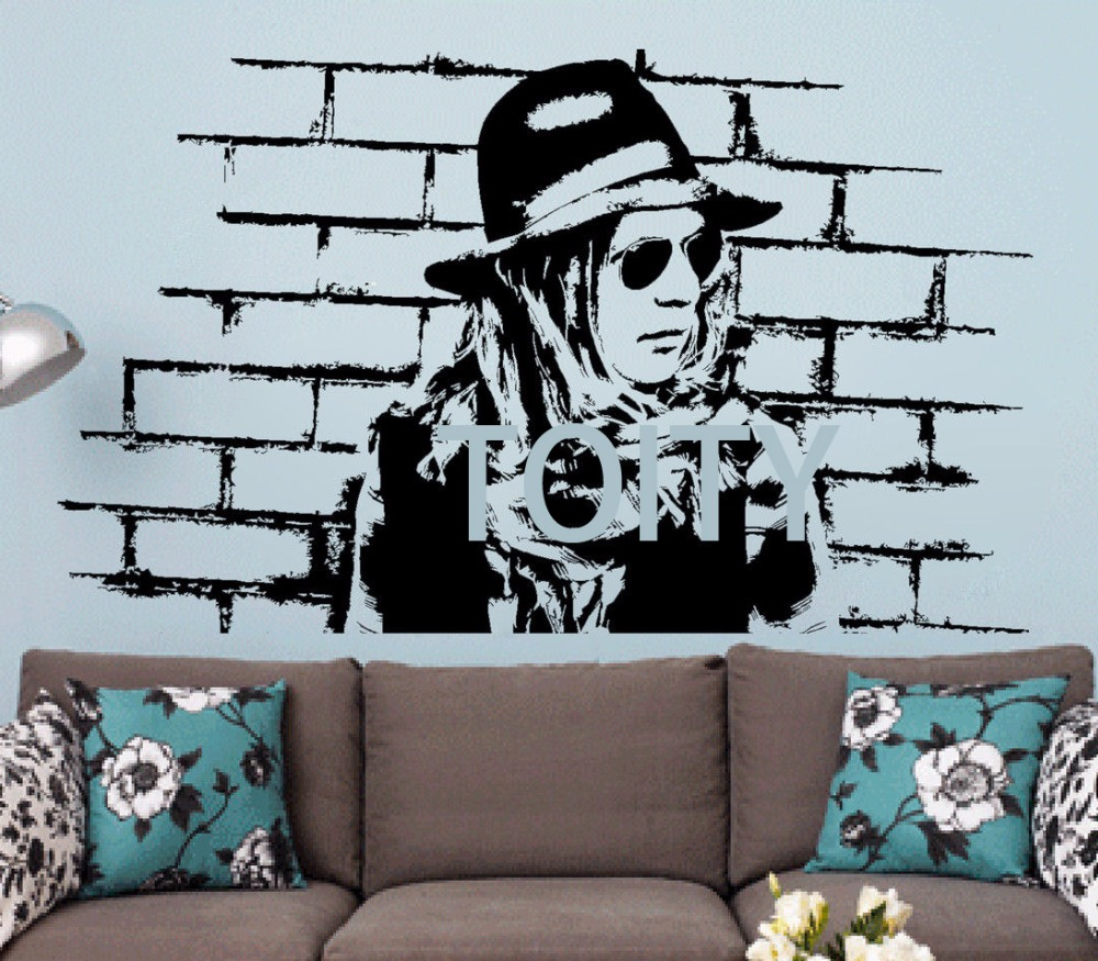 Best Beck Wall Stickers Musician Vinyl Decals Alternative Rock This Month
